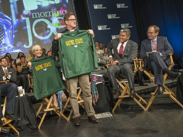 Morning Joe at Wayne State University